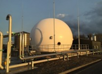 Double Membrane Biogas Holder
