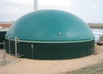 Double Membrane Biogas Domes