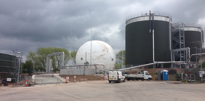 Rushmoor Gas Holder - Severn Trent Water