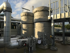 Insulated Siloxane Scrubbers Crewe WwTW